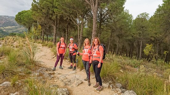 Hiking from the town centre of Ronda