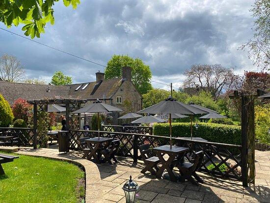 The Tite Inn's amazing beer garden