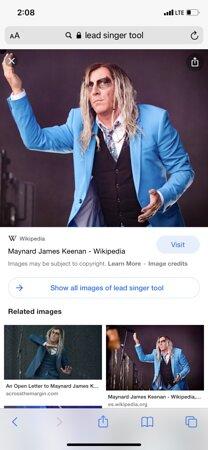 Maynard the metal rock-n-roll artist
