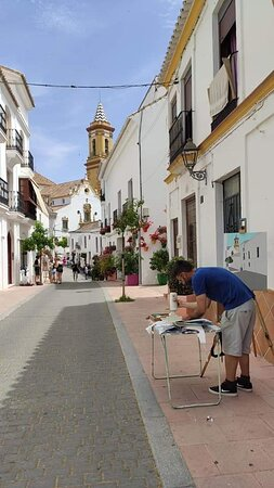 May 2021, the Outdoor Painting Competition in the Old Town