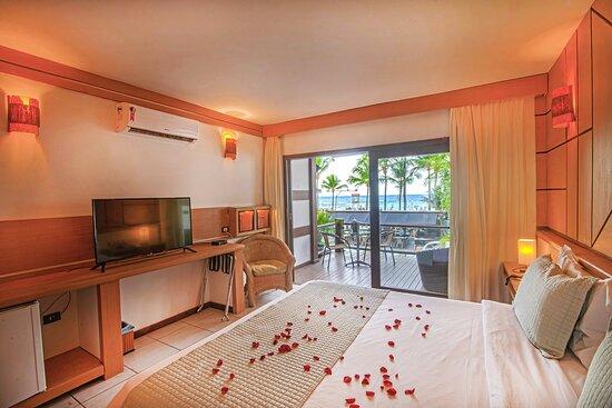 Apartamento vista-mar com hidromassagem