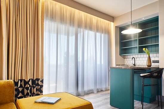 Dettaglio suite con angolo bar