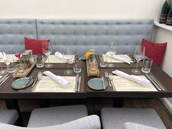 Sylt, Germany: schön gedeckter Tisch