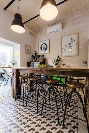Breakfast room leading onto outside terrace