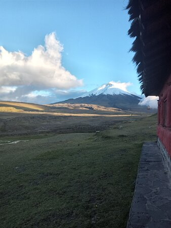 Lovely to see Volcan Cotopaxi out of the clouds!
