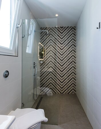 Rain shower in some of our private rooms