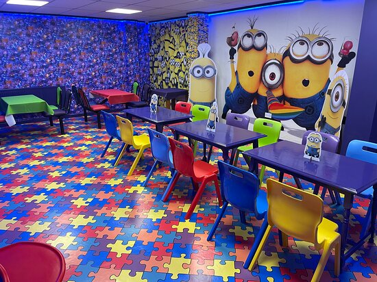 Children's party room available for private hire.