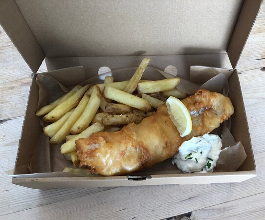 Fish & chip takeaways on Fridays 5-8, with gf & vegan option available. Booking advised.