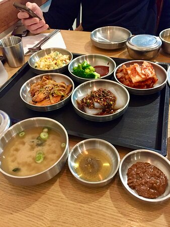 All the different side dishes