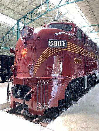 Pennsylvania Railroad Museum is a treasure!