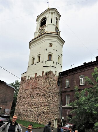 Выборг. Часовая башня.