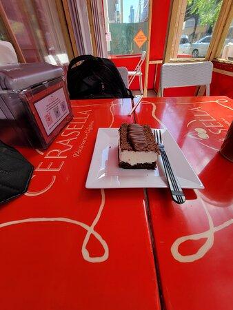chocolate Nutella cheese cake