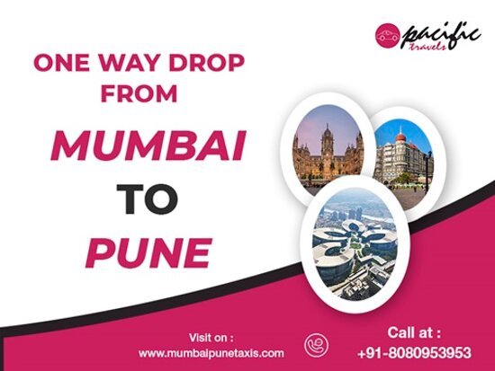 We provide one way drop from Mumbai to Pune