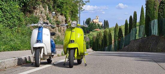 Lambrette a Montevecchia