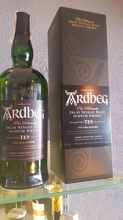 Now available at Robins... Ardbeg 10yr Old Single malt