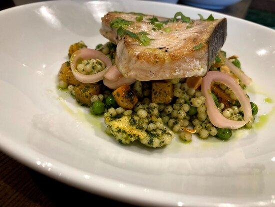Swordfish and Cous Cous Salad