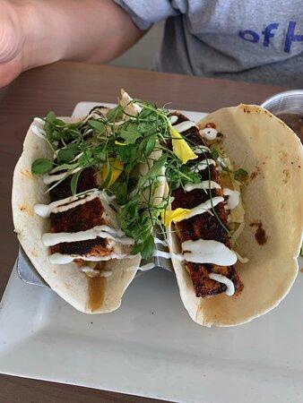 Fish tacos (mahi-mahi)