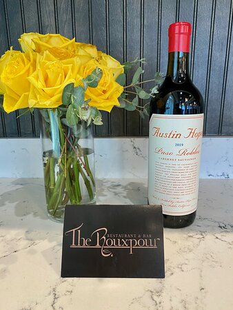 Happy Wine Day! A bottle of wine and a Rouxpour gift card make the perfect present for any occasion!