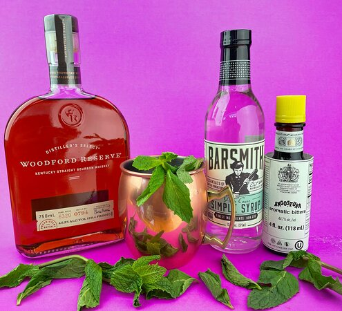 All the mixings for your favorite cocktails.