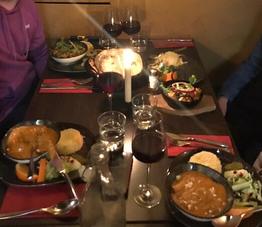 Amazing dinner