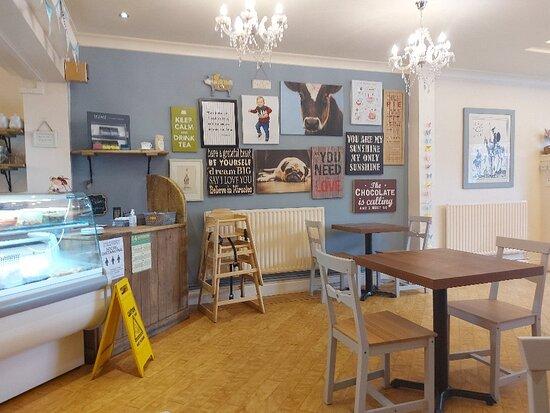 Lovely, stylish little cafe