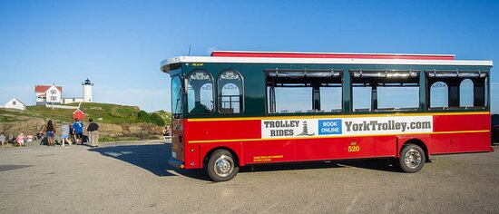 Scenic York Trolley Tour at the Nubble Lighthouse.