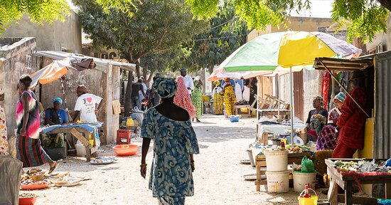 Saly, Senegal: ile de fadiouth ile aux coquillages