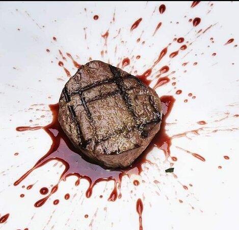 Solomillo con salsa de vino Oporto