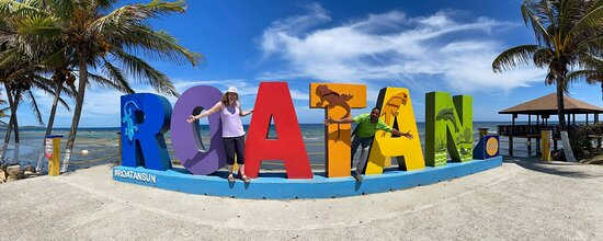 Roatan, Honduras: Cleve is part of the Family!