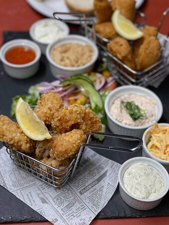 Our fresh seafood platter