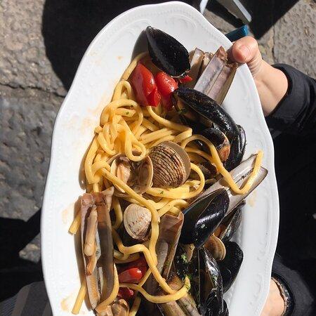 Scialatielli con frutti di mare
