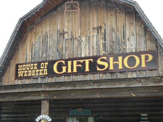 House Of Webster Gift Shop