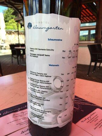 Kehrsiten, Schweiz: Weinempfehlung