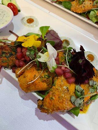 Anari Murgh Tikka (chicken starter)