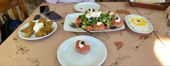 Lunch in Elos coming back from Elafonissi