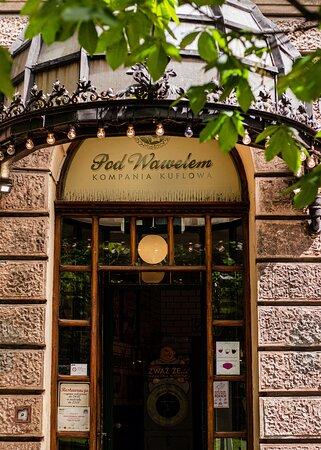 Wejście do restauracji