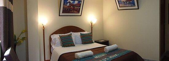 habitación cama doble matrimonial