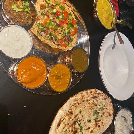 I an so Happy after ordering Zayka thali