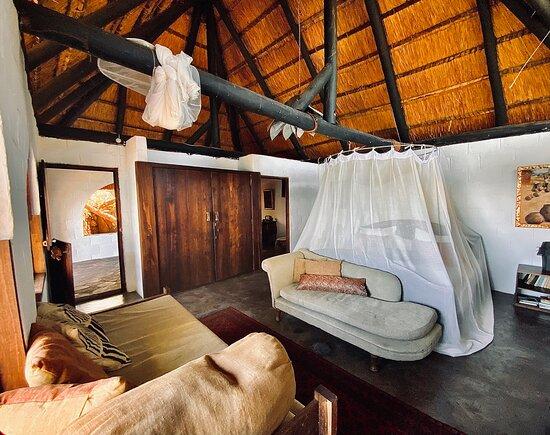 Mpulungu, Zambia: Chalet No. 7 - Room view