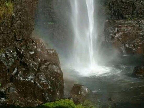 Kagera Region, Tanzania: Welcome to pebini waterfall