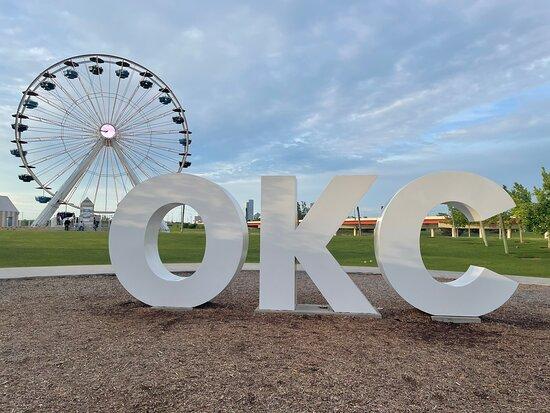 Oklahoma City, OK: Wheeler Ferris Wheel May 2021