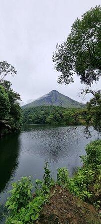 Combo La Fortuna Waterfall and Volcano Hike & Hotsprings: Arenal Volcano