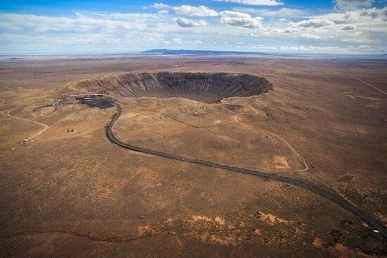 Visite du cratère des météores du nord de l'Arizona et du Walnut...