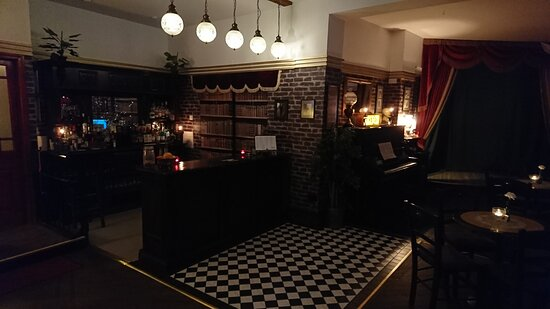 Our bespoke vintage bar featuring a fine selection of high end spirits.