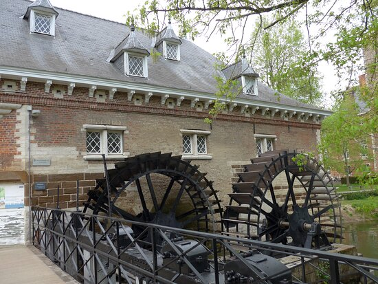 Heverlee, Arenberg Castle, restored water mill
