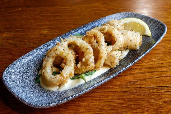 Calamares at Ambiente tapas restaurant Fossgate