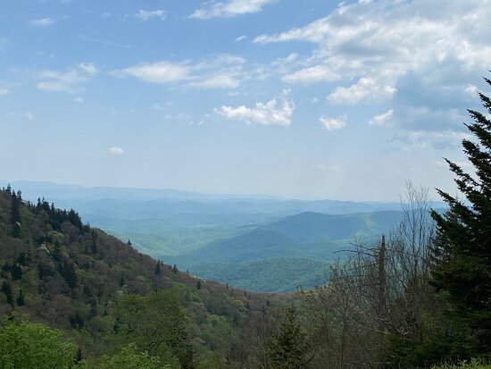View from Devil's Courthouse Overlook