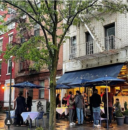 Wonderful raining New York afternoon at Osteria Carlina