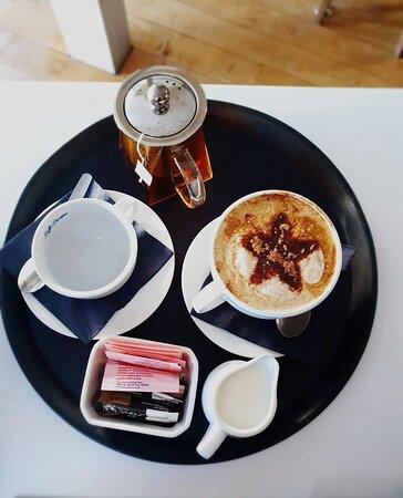 Tea and Cappucino