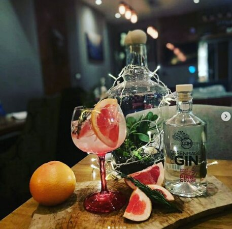 The Exclusive Copenhagen Gin selection, this is the Pink Grape. Definitely worth a try!